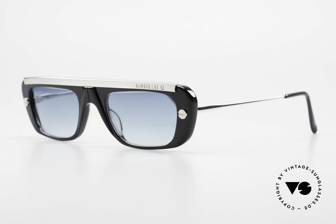 Jean Paul Gaultier 55-0771 Striking Vintage JPG Shades, true eye-catcher ... real designer piece from 1997, Made for Men and Women