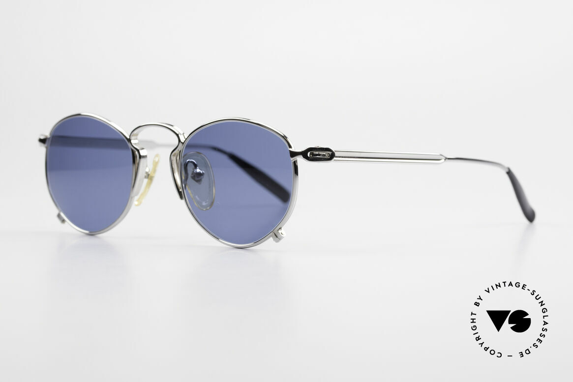 Jean Paul Gaultier 55-1171 90's JPG Designer Sunglasses, surpreme crafting & surface quality from 1997, Made for Men and Women
