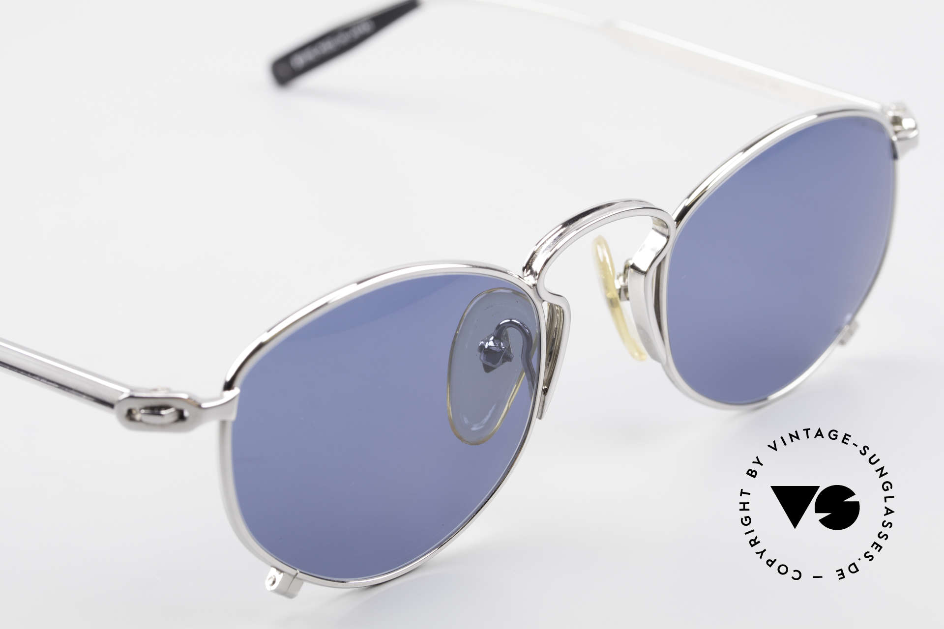 Jean Paul Gaultier 55-1171 90's JPG Designer Sunglasses, the frame can be glazed with optical (sun) lenses, Made for Men and Women