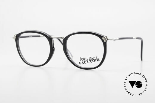 Jean Paul Gaultier 55-1272 Old Vintage Glasses No Retro Details