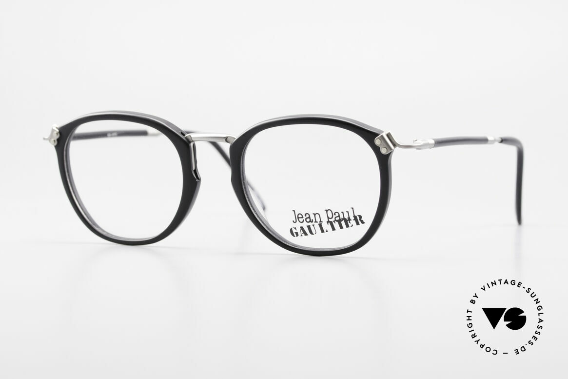Jean Paul Gaultier 55-1272 Old Vintage Glasses No Retro, classical 90s designer eyewear by Jean Paul Gaultier, Made for Men and Women