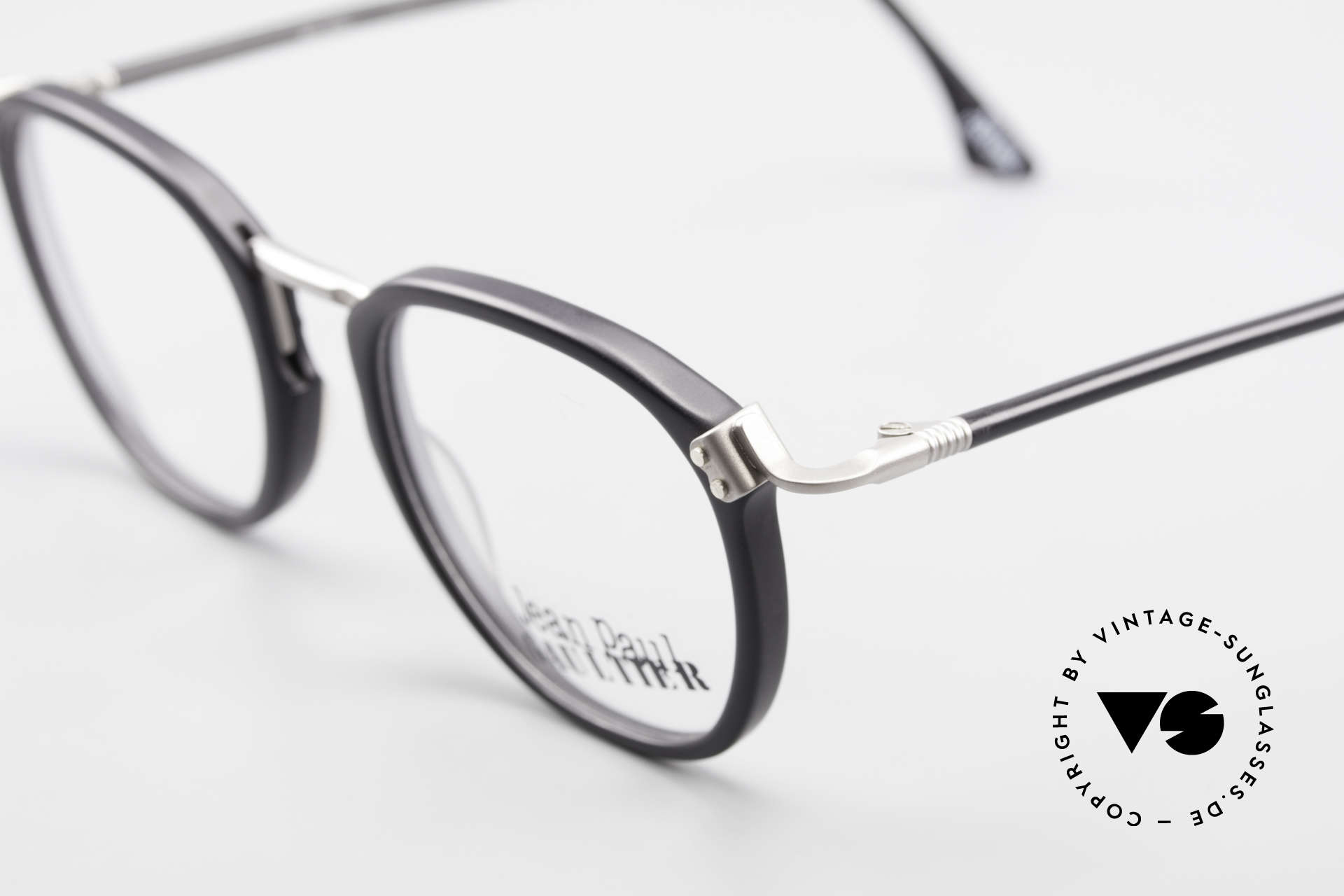 Jean Paul Gaultier 55-1272 Old Vintage Glasses No Retro, NO RETRO specs; an authentic old original from 1994, Made for Men and Women