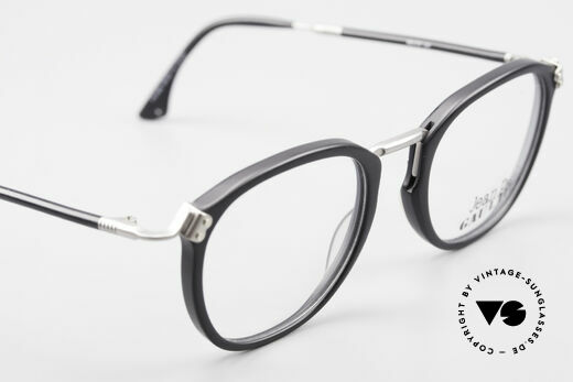 Jean Paul Gaultier 55-1272 Old Vintage Glasses No Retro, this JPG frame can be glazed with lenses of any kind, Made for Men and Women