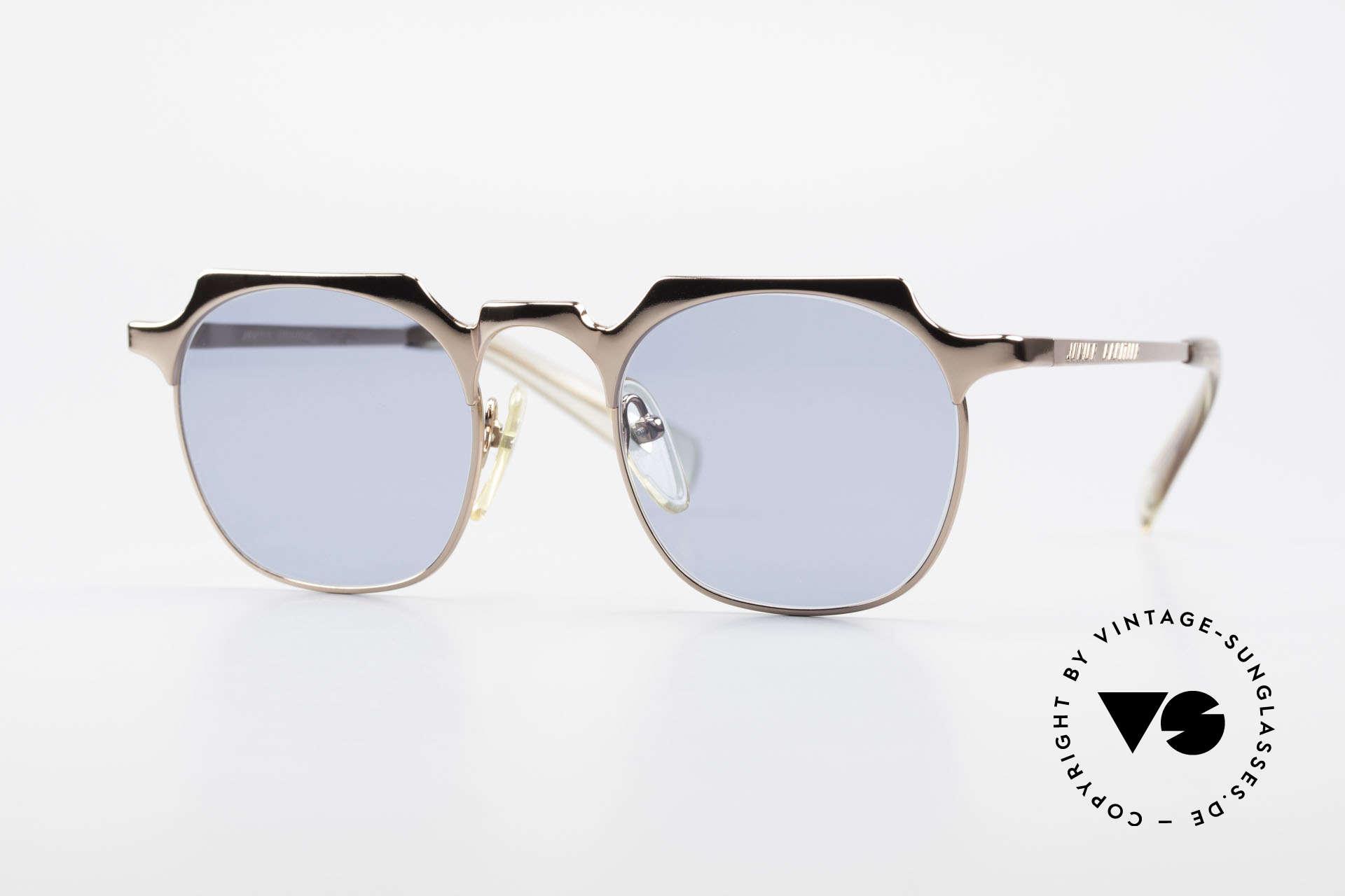 Jean Paul Gaultier 57-0171 Panto Designer Sunglasses, very noble vintage sunglasses by Jean Paul Gaultier, Made for Men and Women