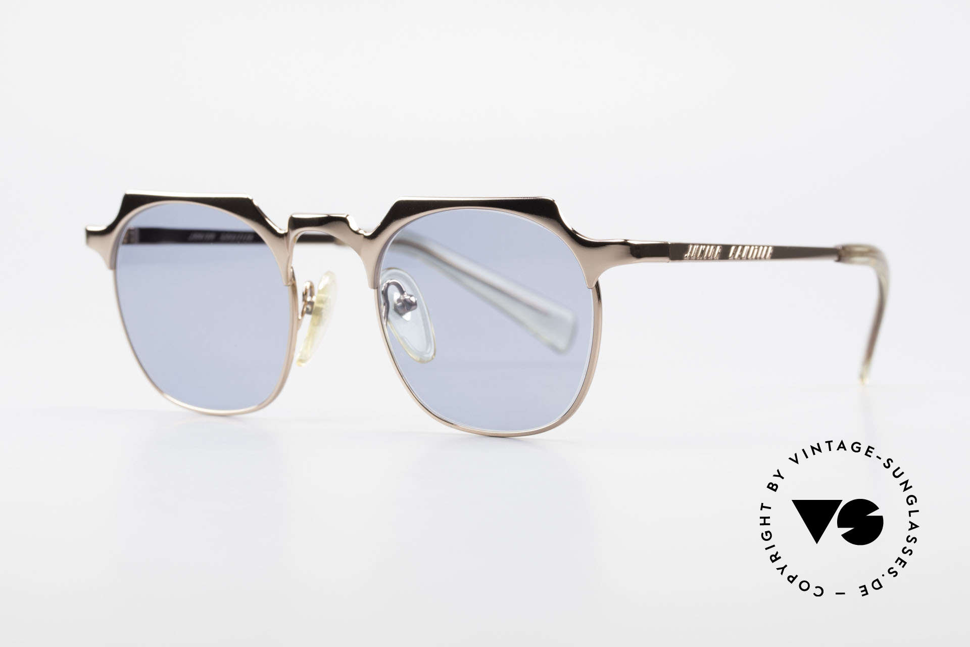 "Jean Paul Gaultier 57-0171 Panto Designer Sunglasses, square interpretation of the classic ""PANTO Design"", Made for Men and Women"