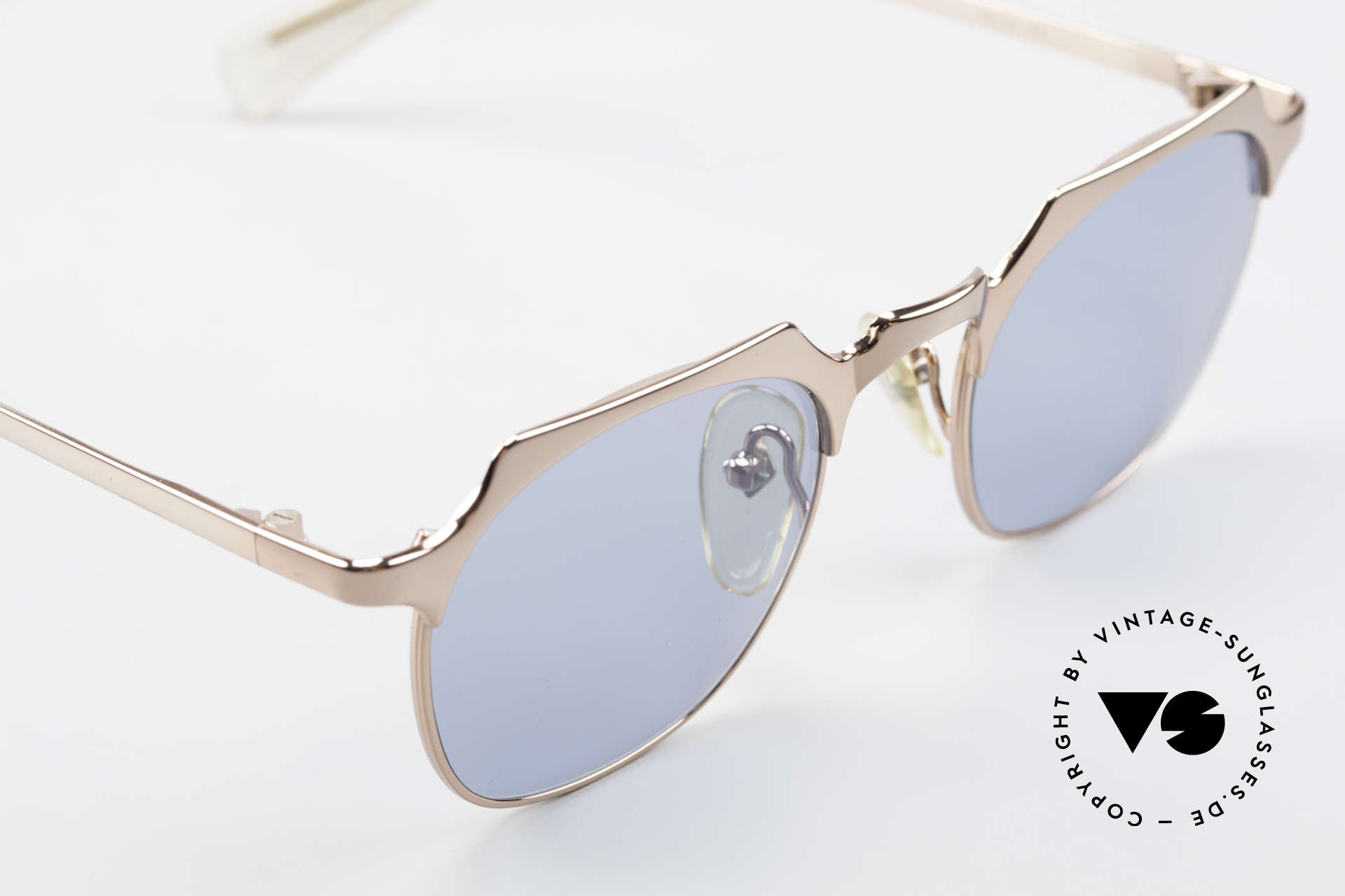 Jean Paul Gaultier 57-0171 Panto Designer Sunglasses, NO RETRO fashion, but a genuine 25 years old rarity, Made for Men and Women