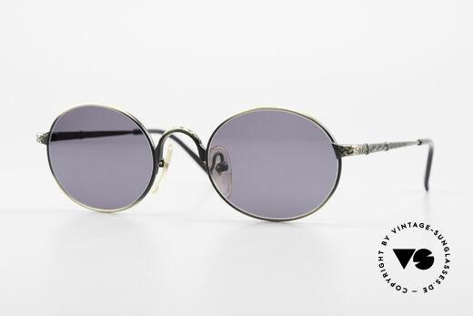 Jean Paul Gaultier 55-9672 Oval 1990's JPG Sunglasses Details