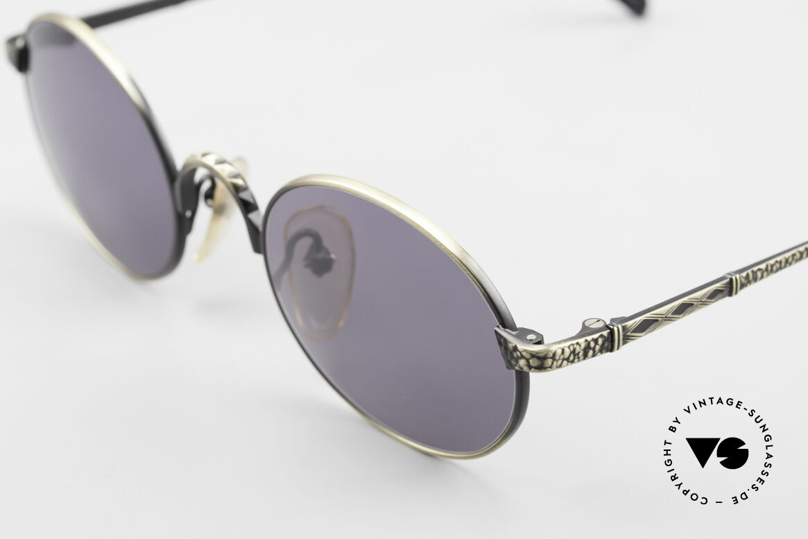Jean Paul Gaultier 55-9672 Oval 1990's JPG Sunglasses, NO RETRO shades, but an old 90s JPG Original, Made for Men and Women