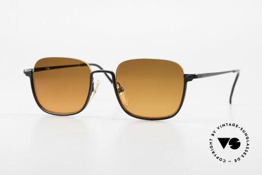 Jean Paul Gaultier 55-7161 Square Vintage Sunglasses Details