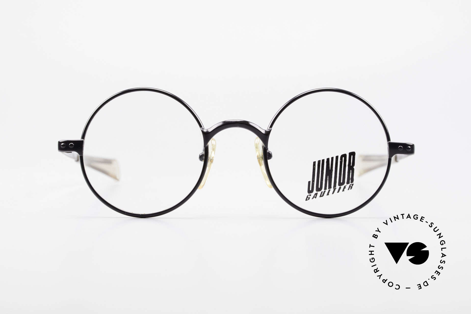 Jean Paul Gaultier 57-0173 Round Glasses Junior Gaultier, one of the top models of the Junior Gaultier Series, Made for Men and Women