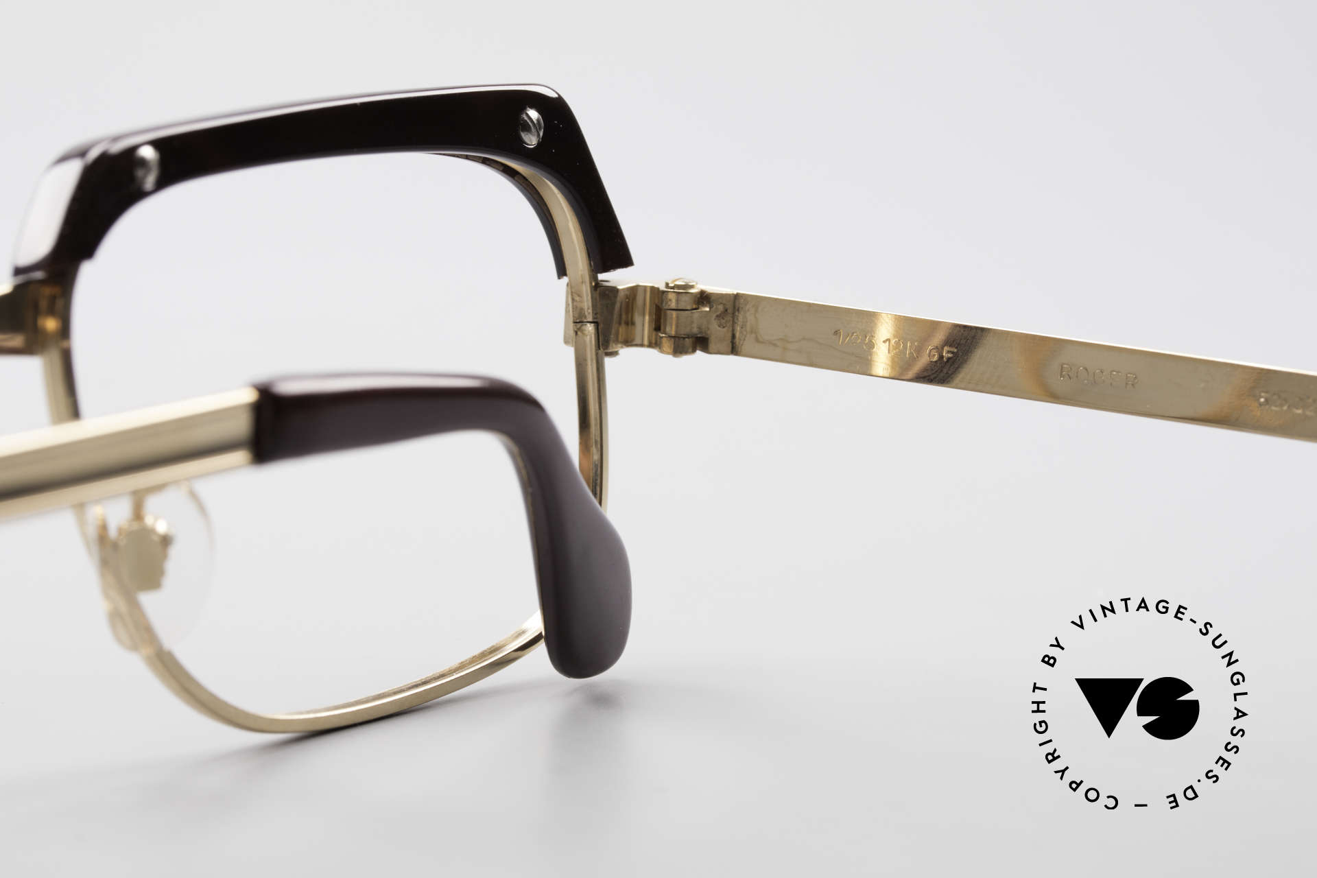 Selecta - Dalai Lama Pure Gold Filled Frame 70's, NO RETRO EYEWEAR, but a genuine old 1970's Original, Made for Men