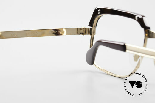 Selecta - Dalai Lama Pure Gold Filled Frame 70's, the frame is made for optical lenses or tinted sun lenses, Made for Men