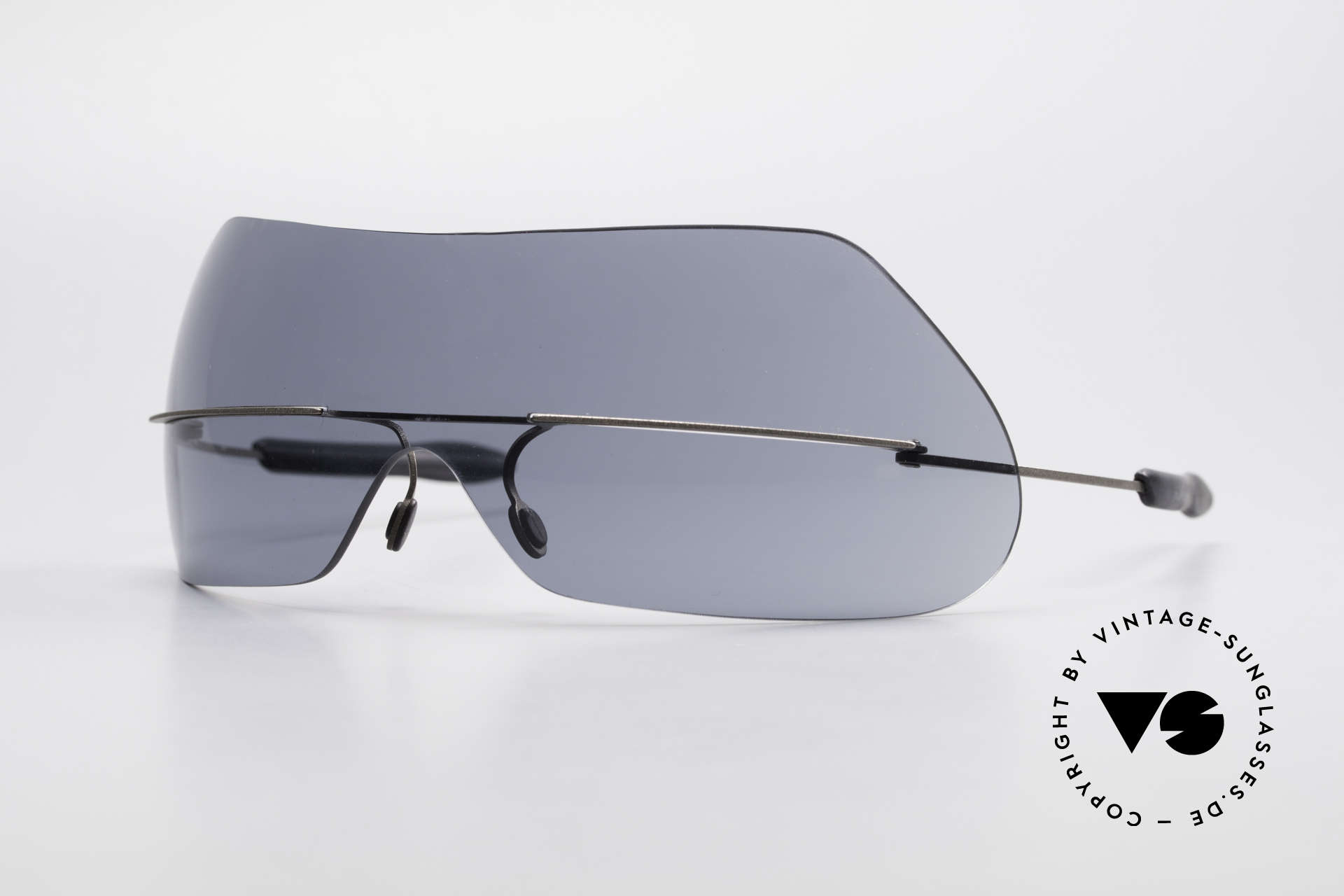 Theo Belgium Satisfashion 138 Sunglasses With Eyebrows, THEO shades of the SATISFASHION series from 2001, Made for Women