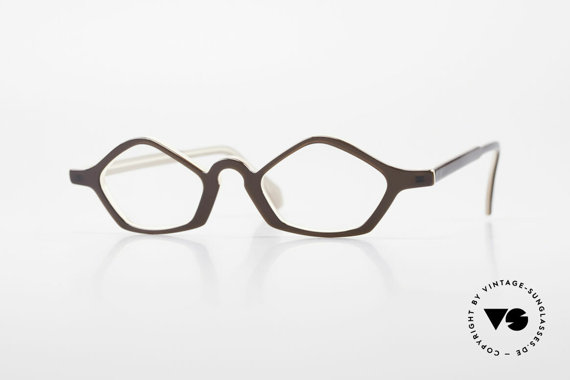 Theo Belgium Polygone Geometrical Plastic Eyeglasses, Theo Belgium = the most self-willed brand in the world, Made for Men and Women