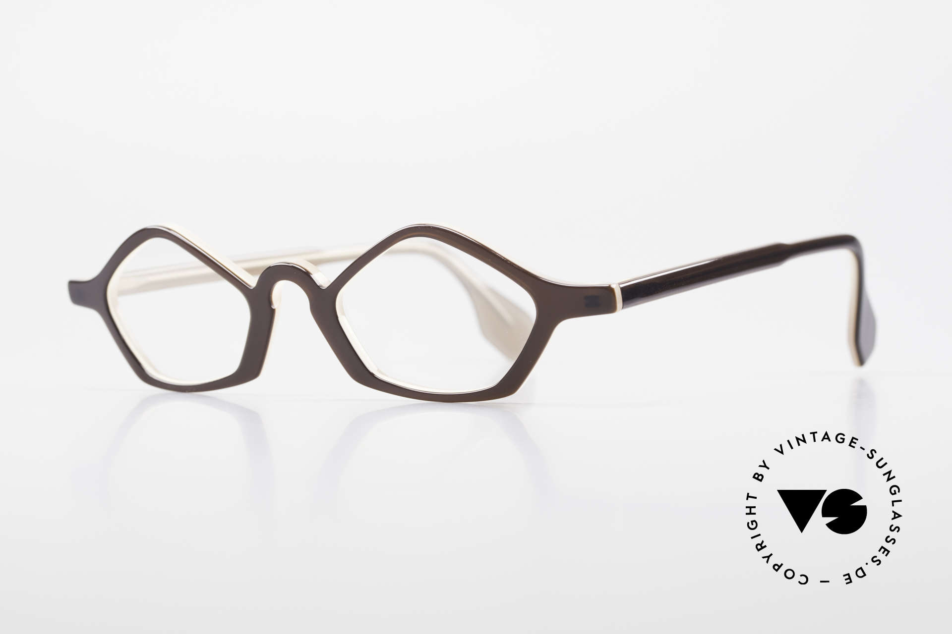 Theo Belgium Polygone Geometrical Plastic Eyeglasses, made for the avant-garde, individualists & trend-setters, Made for Men and Women