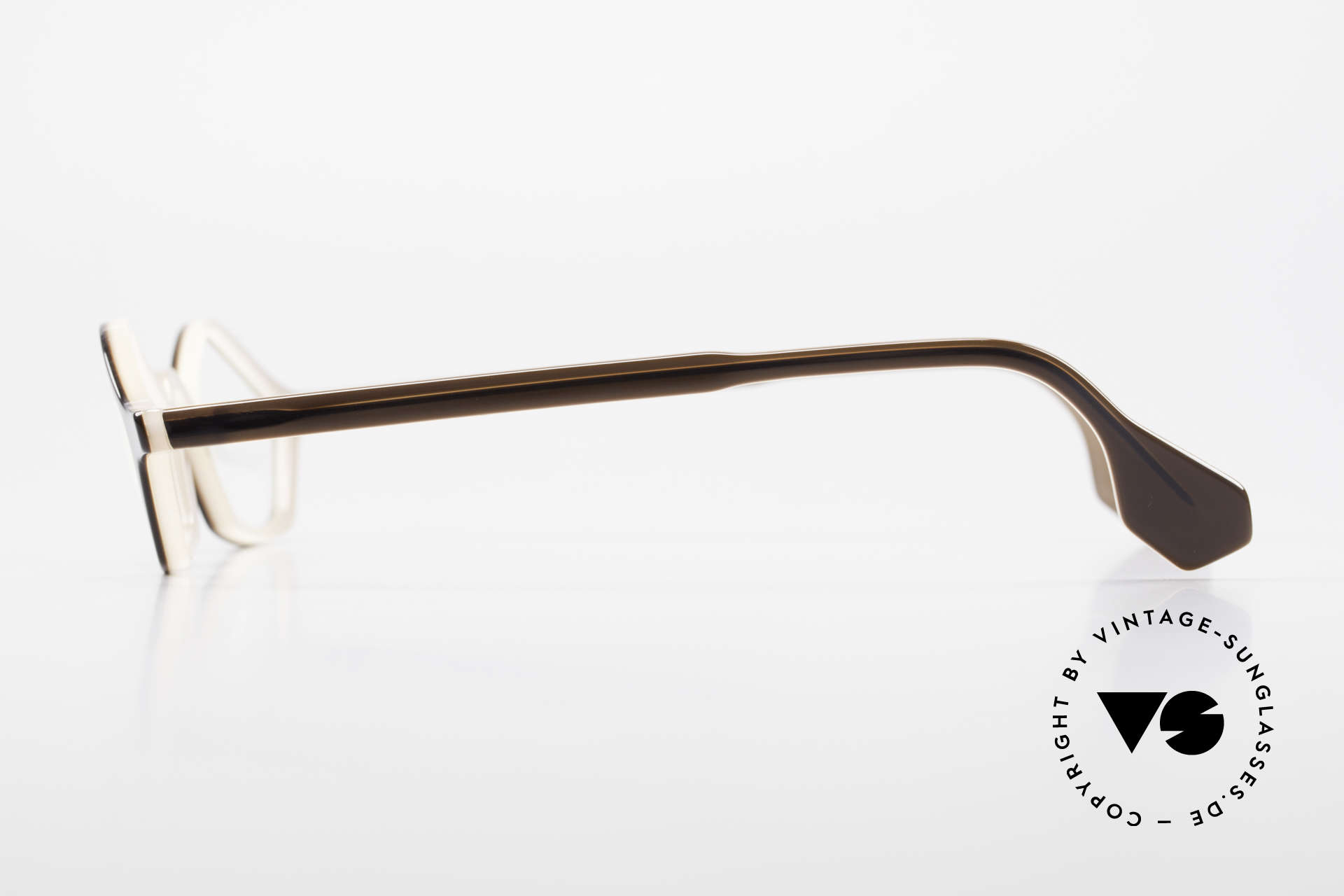 Theo Belgium Polygone Geometrical Plastic Eyeglasses, fancy geometrical (polygon) plastic frame in SMALL size, Made for Men and Women