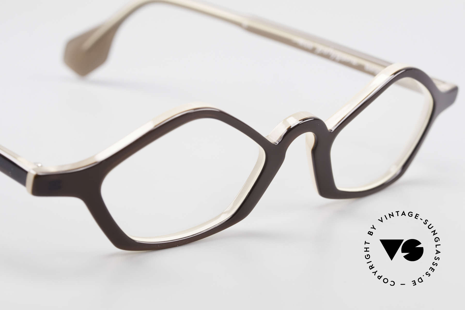 Theo Belgium Polygone Geometrical Plastic Eyeglasses, clear DEMO lenses should be replaced with prescriptions, Made for Men and Women