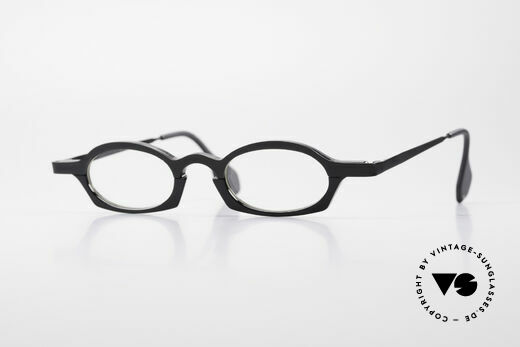 Theo Belgium Bioval Vintage Combi Reading Glasses Details