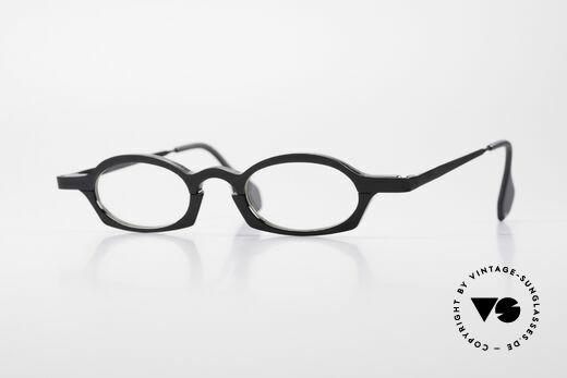 Theo Belgium Bioval Vintage Combi Reading Glasses Details