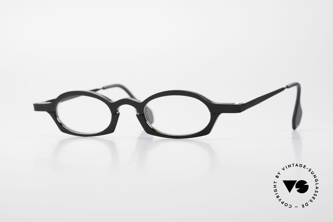 Theo Belgium Bioval Vintage Combi Reading Glasses, Theo Belgium = the most self-willed brand in the world, Made for Men and Women