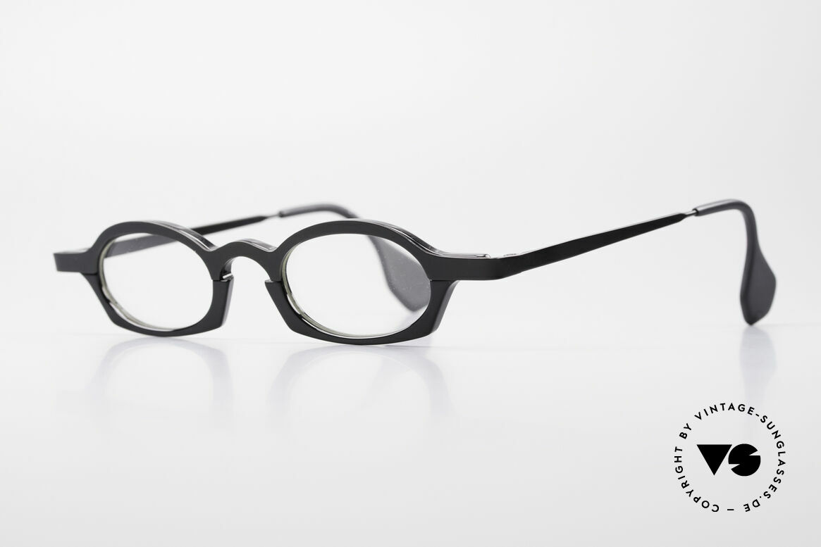 Theo Belgium Bioval Vintage Combi Reading Glasses, founded in 1989 as 'opposite pole' to the 'mainstream', Made for Men and Women