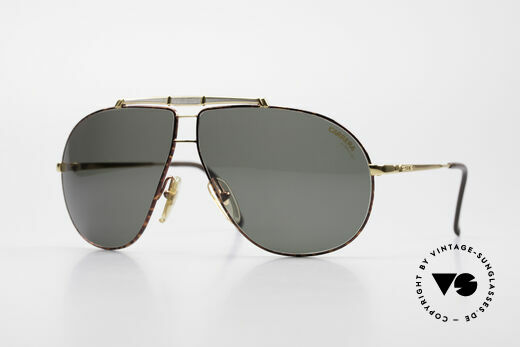 Carrera 5401 Old 80's Aviator Sunglasses Details