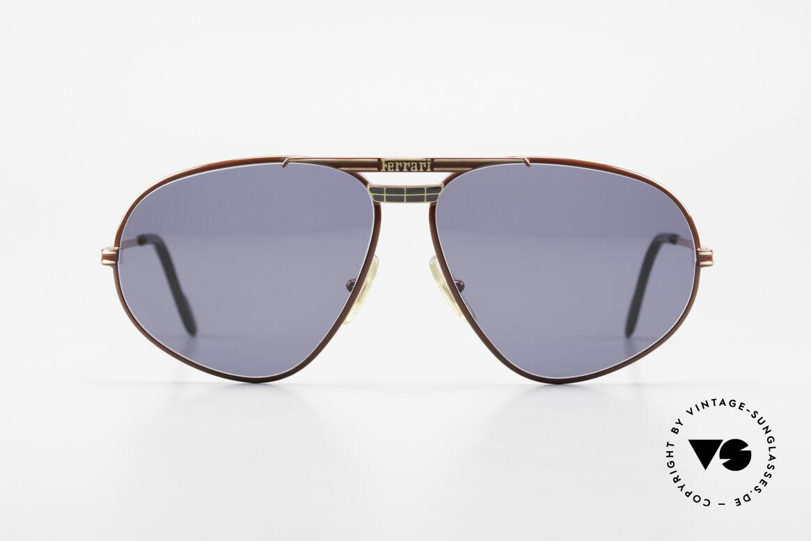 Ferrari F12 Old Vintage Luxury Sunglasses, just noble, mod. F12, color 580, large size 62/13, 135, Made for Men