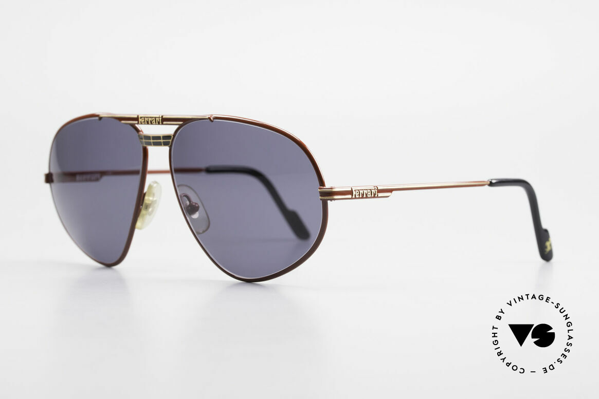 Ferrari F12 Old Vintage Luxury Sunglasses, an alternative to the ordinary 'aviator style', unique, Made for Men
