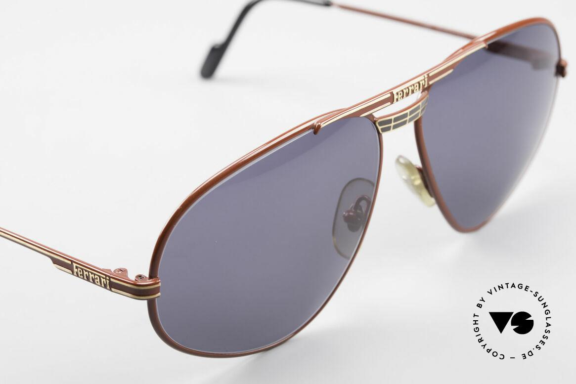 Ferrari F12 Old Vintage Luxury Sunglasses, never worn (like all our rare vintage Ferrari eyewear), Made for Men