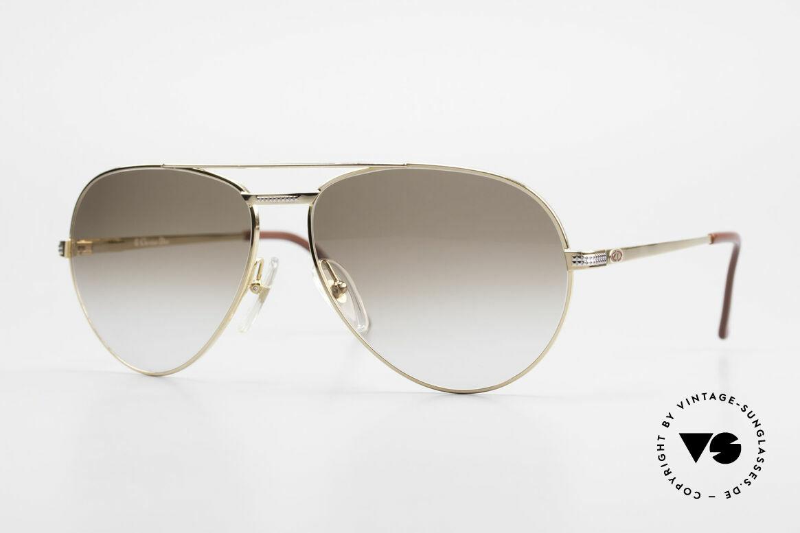 Christian Dior 2780 Gold-Plated 90's Aviator Frame