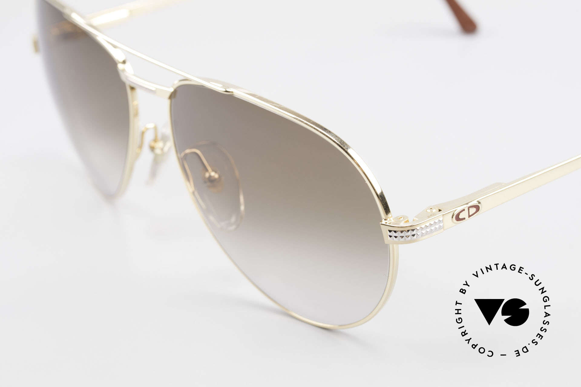 Christian Dior 2780 Gold-Plated 90's Aviator Frame, new old stock (like all our vintage Dior glasses), Made for Men