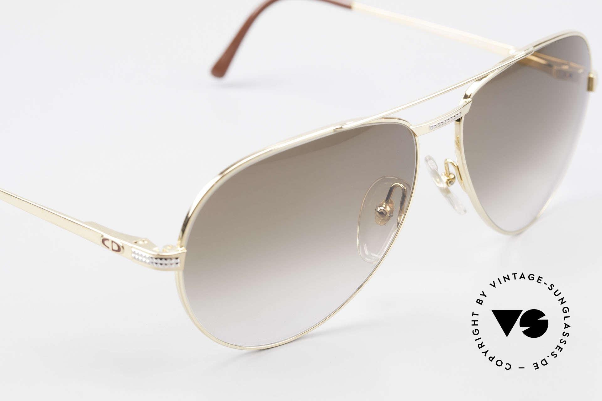 Christian Dior 2780 Gold-Plated 90's Aviator Frame, NO RETRO design, but a 25 years old ORIGINAL, Made for Men