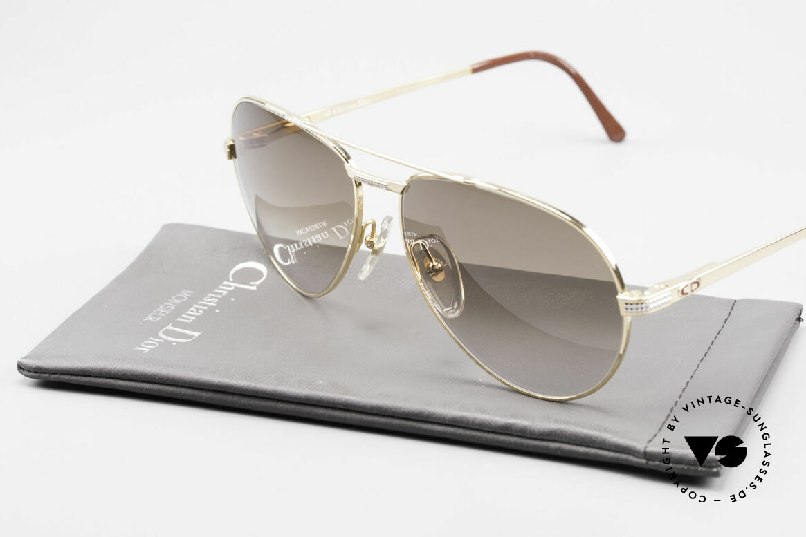 Christian Dior 2780 Gold-Plated 90's Aviator Frame, Size: large, Made for Men