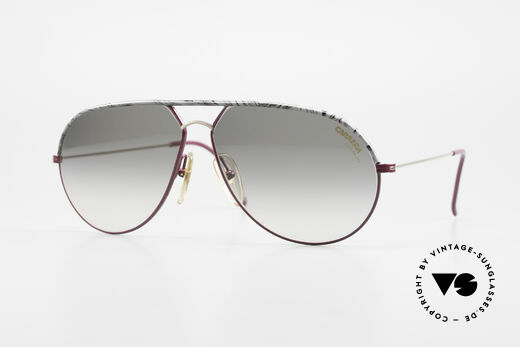 Carrera 5428 Rare Old Vintage 80's Shades Details