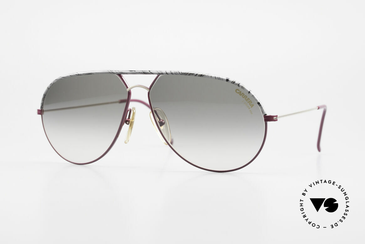 Carrera 5428 Rare Old Vintage 80's Shades, classic vintage 80's designer sunglasses by Carrera, Made for Men and Women