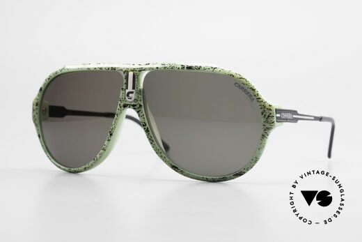 Carrera 5565 80's Vintage Sunglasses Optyl Details