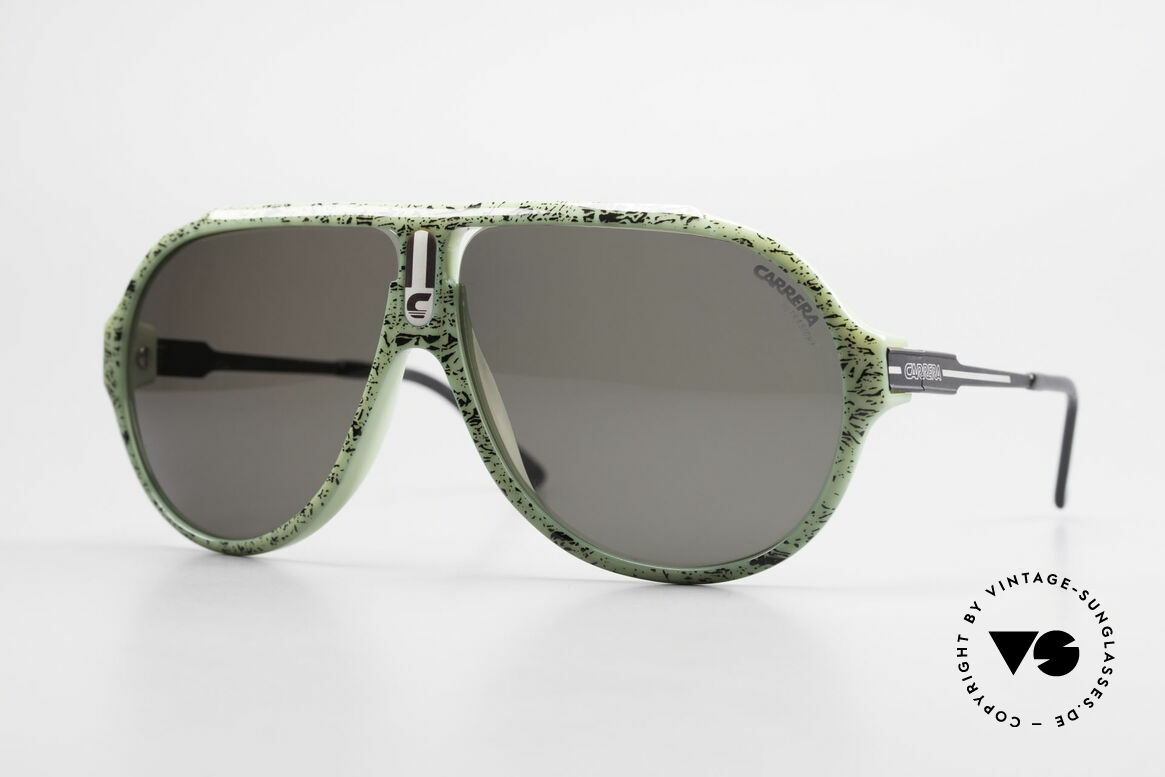 Carrera 5565 80's Vintage Sunglasses Optyl, CARRERA 5565 = a design classic from the mid 1980's, Made for Men and Women
