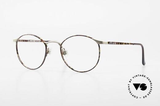 Giorgio Armani 163 Small Panto Eyeglass-Frame Details