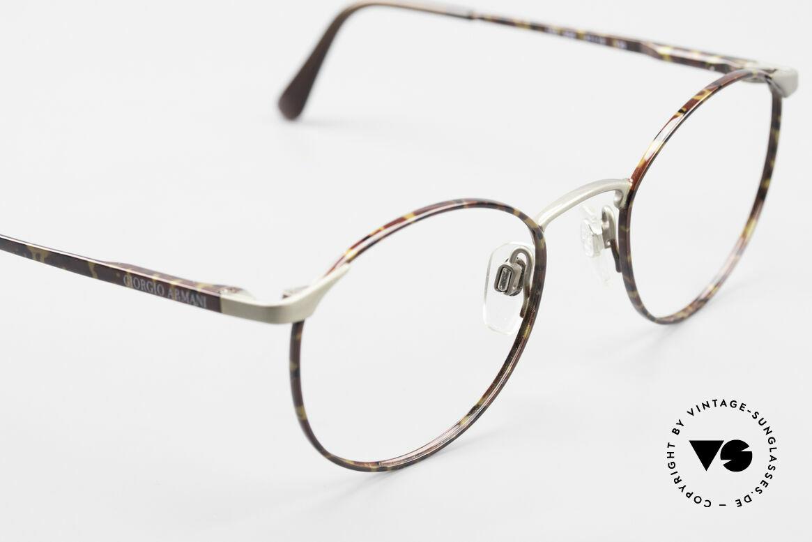 Giorgio Armani 163 Small Panto Eyeglass-Frame, unworn (like all our vintage GIORGIO Armani frames), Made for Men and Women