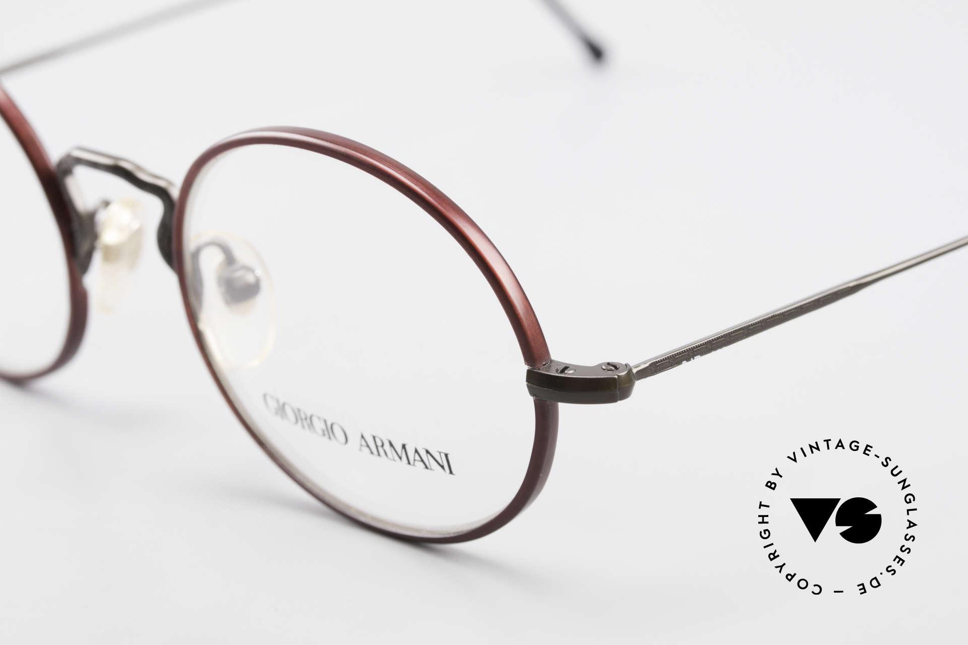 Giorgio Armani 247 Oval 90's Eyeglasses No Retro, unworn rarity (like all our rare vintage GA eyewear), Made for Men and Women