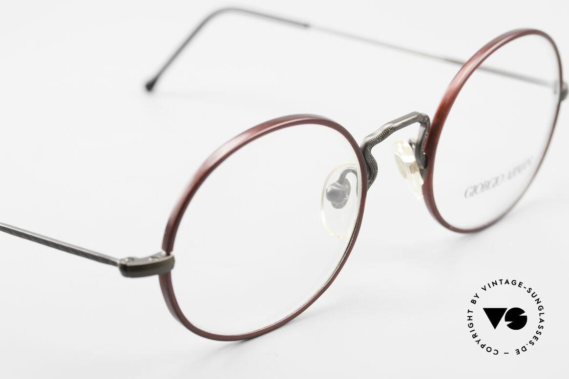 Giorgio Armani 247 Oval 90's Eyeglasses No Retro, NO RETRO SPECS, but an app. 25 years old Original, Made for Men and Women