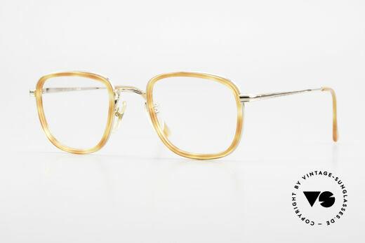 Giorgio Armani 102 Square Vintage Eyeglasses 90's Details