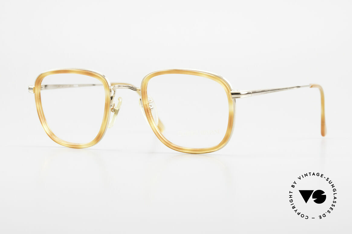 Giorgio Armani 102 Square Vintage Eyeglasses 90's, vintage designer eyeglass-frame by GIORGIO Armani, Made for Men and Women