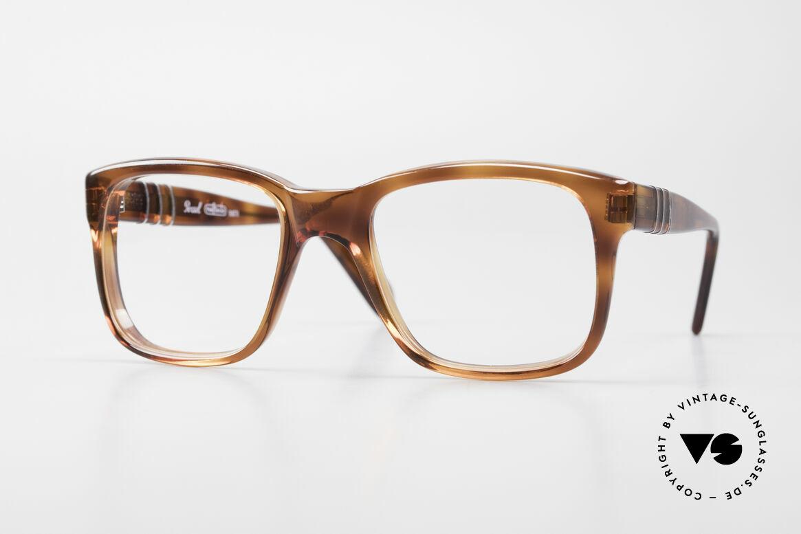 Persol 58150 Ratti Old School Vintage Eyeglasses, old school 'nerdy' eyeglass-frame by PERSOL RATTI, Made for Men