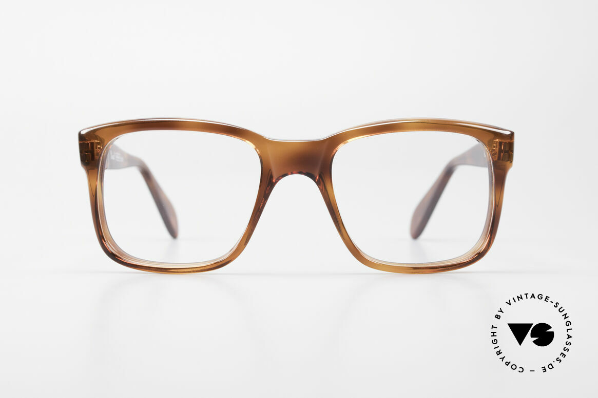 Persol 58150 Ratti Old School Vintage Eyeglasses, massive frame with Meflecto-system: flexible temples, Made for Men