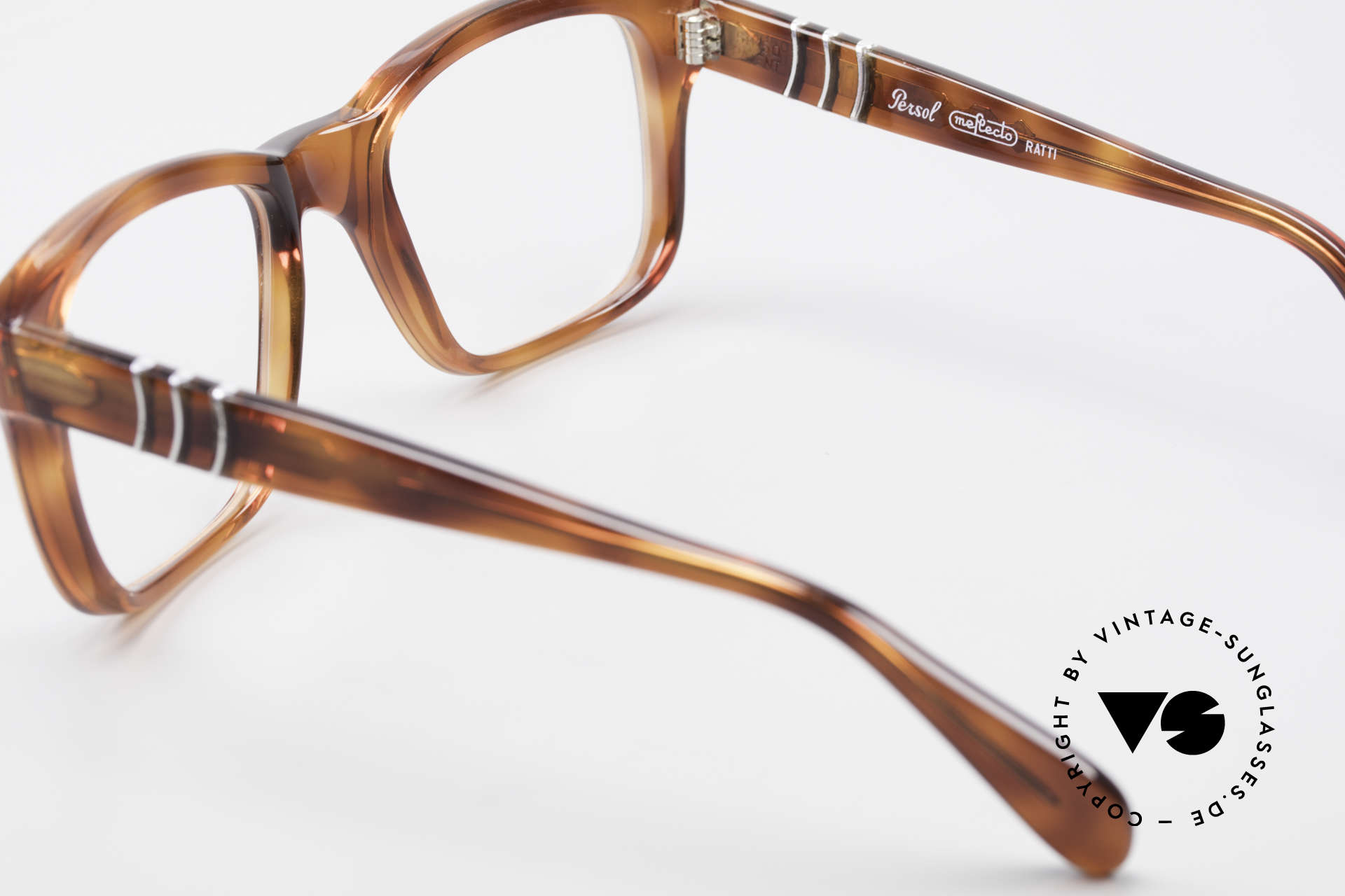 Persol 58150 Ratti Old School Vintage Eyeglasses, the frame can be glazed with optical lenses of any kind, Made for Men