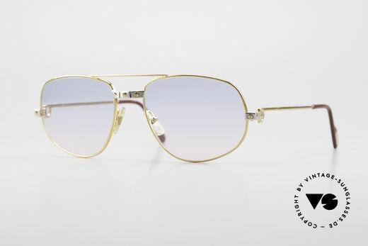 Cartier Romance Santos - M Luxury Vintage Sunglasses Details