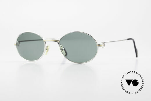 Cartier Saint Honore Oval Luxury Sunglasses 90's Details