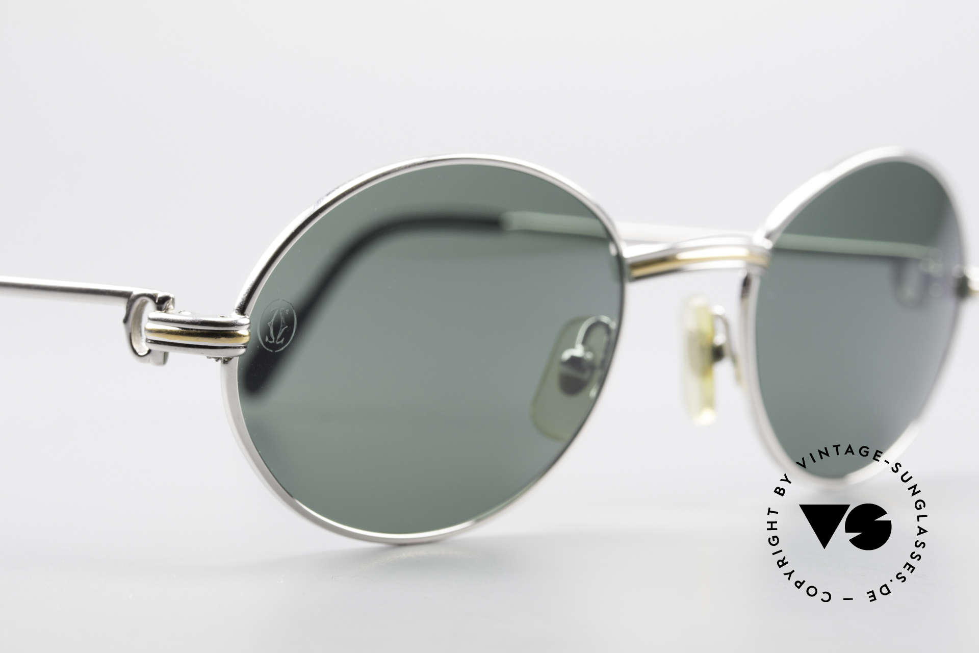 Cartier Saint Honore Oval Luxury Sunglasses 90's, 2. hand, but in great condition (scratch-free lenses), Made for Men