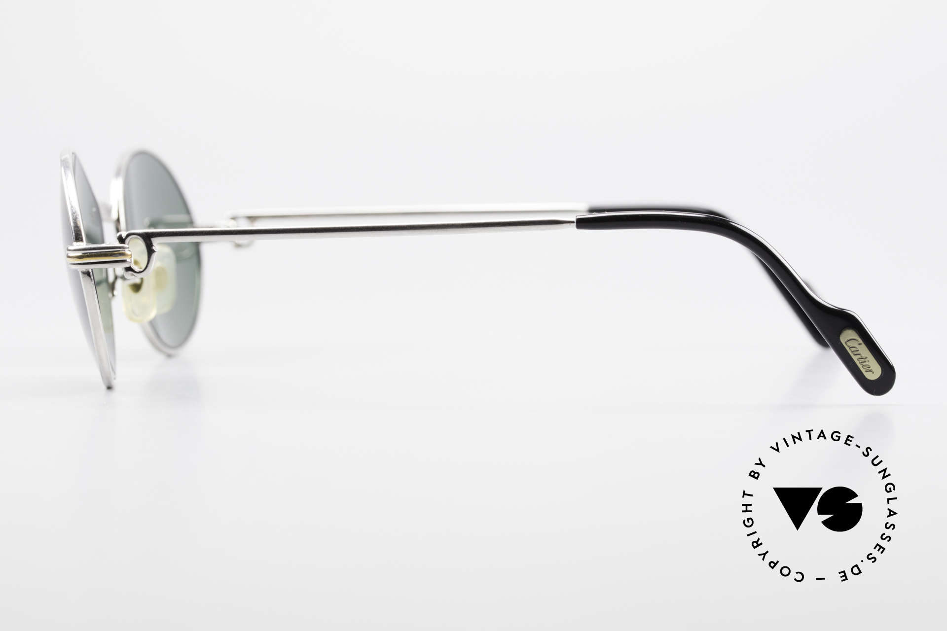 Cartier Saint Honore Oval Luxury Sunglasses 90's, NO RETRO; a 20 years old ORIGINAL + case by GUCCI, Made for Men